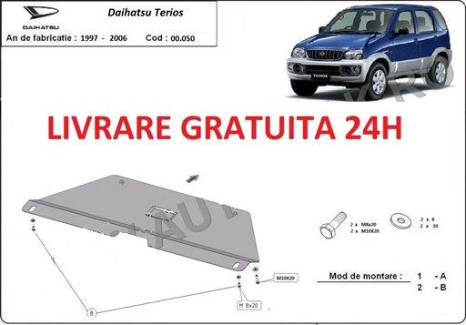 Scut metalic otel 2mm pentru cutia de viteze Daihatsu Terios 1997 - 2006 COD: 00.050