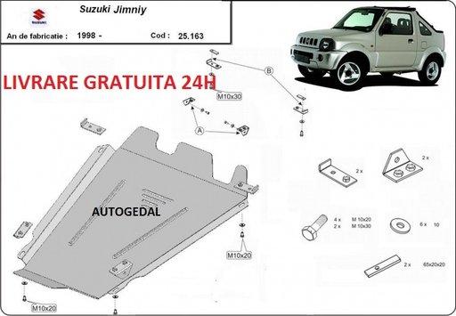 Scut metalic otel 2mm pentru cutia de viteze Suzuki Jimny 2003-prezent COD:25.163