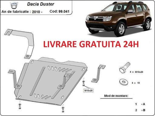 Scut metalic otel 2mm rezervor Dacia Duster 2010-PREZENT COD: 99.041