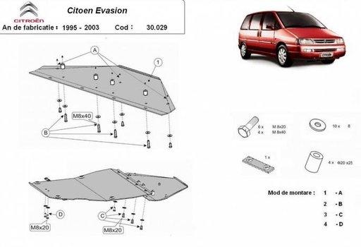 Scut motor Citroen Evasion (1995-2003)