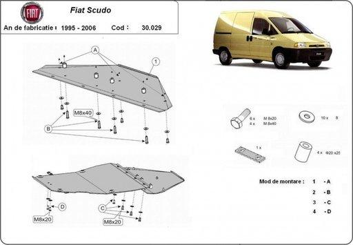 Scut motor Fiat Scudo (1995-2006)