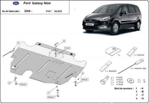 Scut motor metalic Ford Galaxy dupa 2006