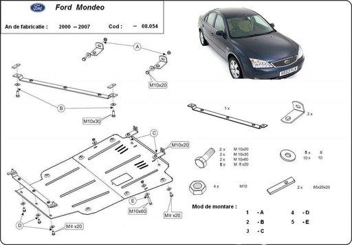 Scut motor metalic Ford Mondeo 2000 - 2007