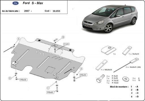 Scut motor metalic Ford S - Max dupa 2007