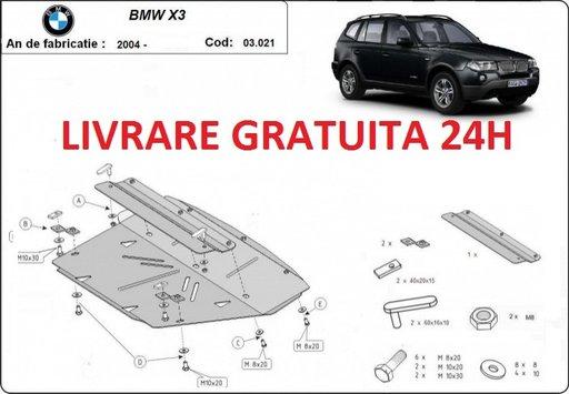 Scut motor metalic otel 2,5 mm BMW X3 E83 2003-2010 COD:03.021