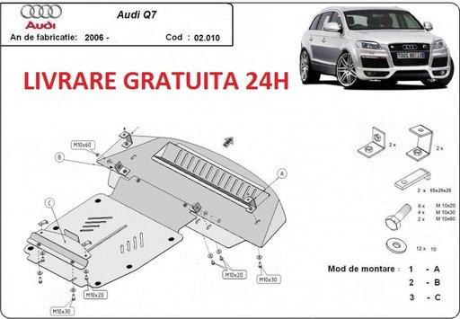 Scut motor metalic otel 2 mm Audi Q7 2006-2015 COD:02.010