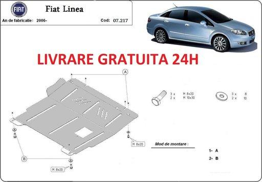 Scut motor metalic otel 2 mm Fiat Linea 2006-prezent COD: 07.217