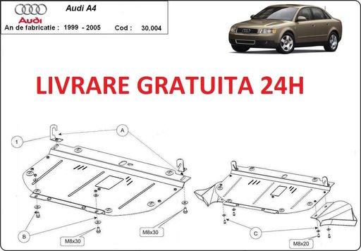 Scut motor metalic otel 2mm Audi A4 B6 1.9 TDI 2000-2004 COD: 30.004A41.9