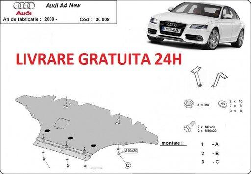 Scut motor metalic otel 2mm Audi A4 B8 2008-2014 COD:30.006