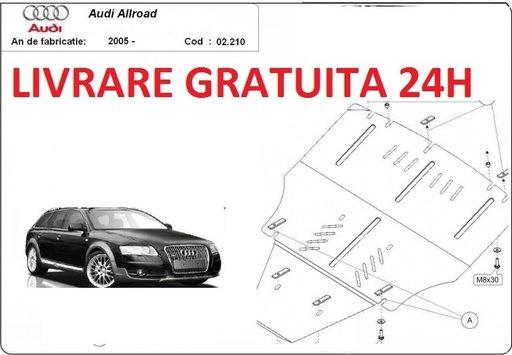 Scut motor metalic otel 2mm Audi Allroad II 2005-2011 COD: 02.210ALL