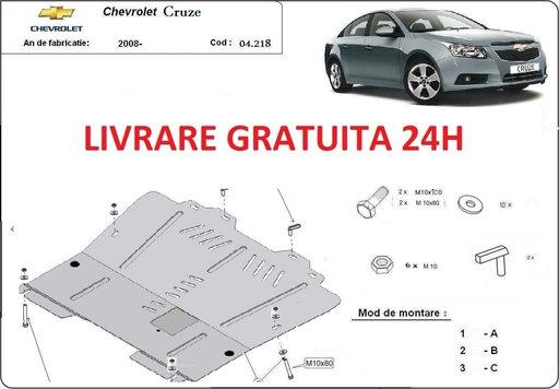 Scut motor metalic otel 2mm Chevrolet Cruze 2008-prezent COD: 04.218