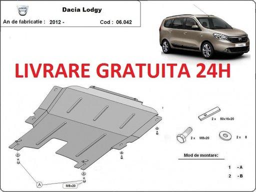 Scut motor metalic otel 2mm Dacia Lodgy 2012- prezent COD: 06.042