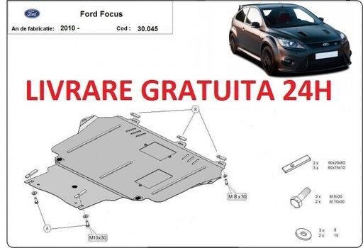 Scut motor metalic otel 2mm Ford Focus III 2010-prezent COD: 30.044