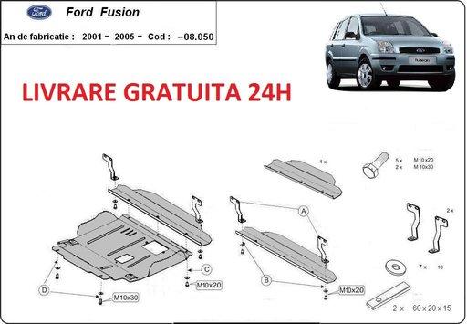 Scut motor metalic otel 2mm Ford Fusion 2002-prezent COD:08.050