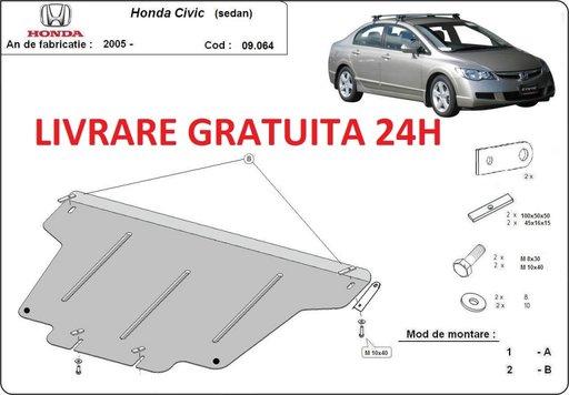 Scut motor metalic otel 2mm Honda Civic Sedan 2005-2016 COD:09.064