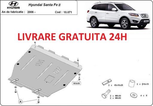 Scut motor metalic otel 2mm Hyundai Santa Fe II 2006-2011 COD:10.071