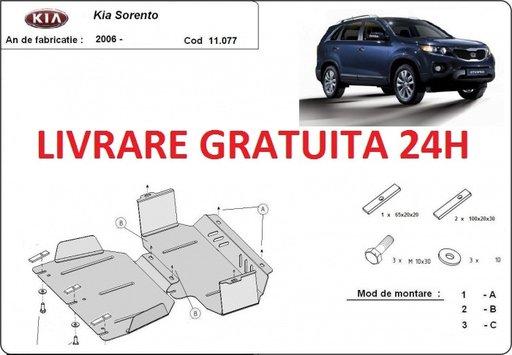 Scut motor metalic otel 2mm Kia Sorento 2006-2010 COD:11.077