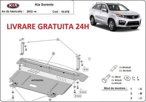 Scut motor metalic otel 2mm Kia Sorento 2012-prezent COD:10.078