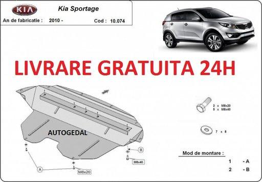 Scut motor metalic otel 2mm Kia Sportage 2011-2015 COD:10.074