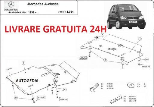 Scut motor metalic otel 2mm Mercedes A-Classe W168 1997-2004 COD:14.084