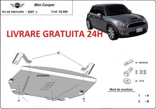Scut motor metalic otel 2mm Mini Cooper 2007-2014 COD:03.500