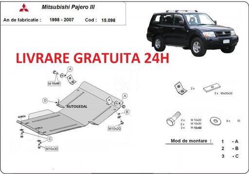 Scut motor metalic otel 2mm Mitsubishi Pajero Sport 1 1998-2007 COD:15.098