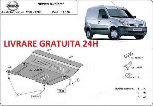 Scut motor metalic otel 2mm Nissan Kubistar 2004-2008 COD:19.130