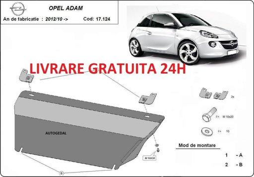 Scut motor metalic otel 2mm Opel Adam 2012-prezent COD:17.124