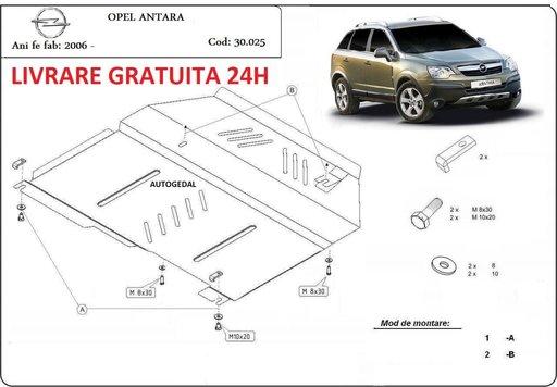Scut motor metalic otel 2mm Opel Antara 2006 - 2010 COD:30.025