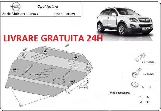 Scut motor metalic otel 2mm Opel Antara 2010 - prezent COD:30.026