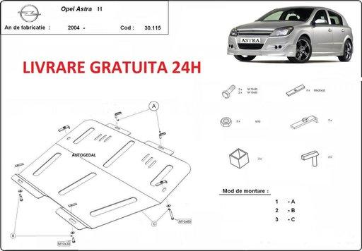 Scut motor metalic otel 2mm Opel Astra H 2004-2010 COD:30.115