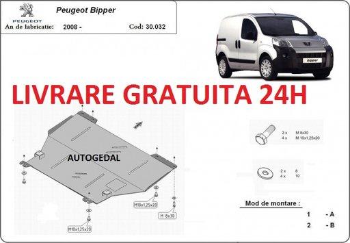 Scut motor metalic otel 2mm Peugeot Bipper 2008-prezent COD:30.032
