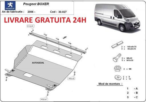 Scut motor metalic otel 2mm Peugeot Boxer 2006-prezent COD:30.027
