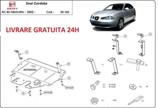 Scut motor metalic otel 2mm Seat Cordoba benzina 2002-2010 COD:30.142