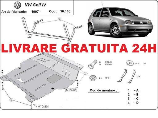 Scut motor metalic otel 2mm VW Golf 4 1997-2006