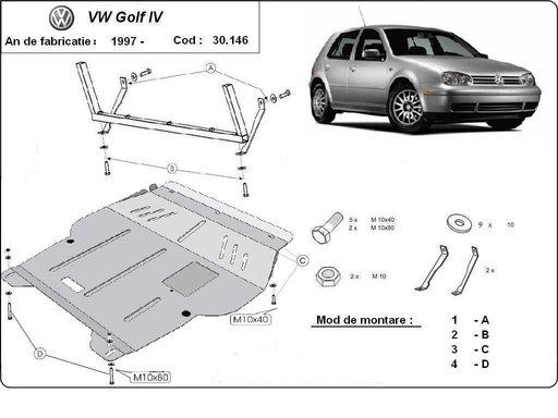Scut motor metalic VW Golf 4 / Vw Bora / Skoda Oct