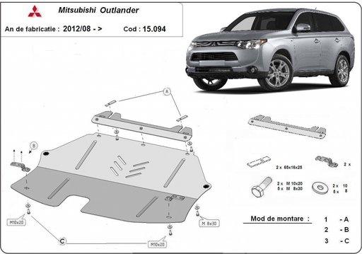 Scut motor Mitsubishi Outlander dupa 2013