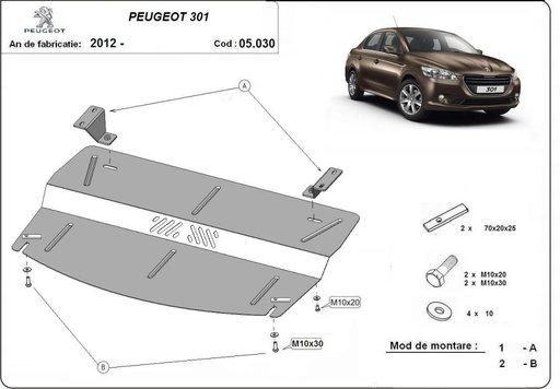 Scut motor Peugeot 301 dupa 2012