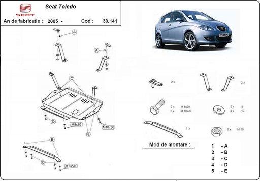 Scut motor Seat Toledo III 2004 - 2010