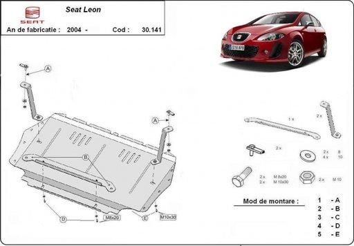 Scut motor si cutia de viteze Seat Leon/ Toledo/ Altea dupa 2004