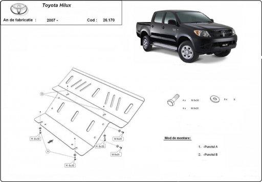 Scut motor Toyota Hilux dupa 2006-