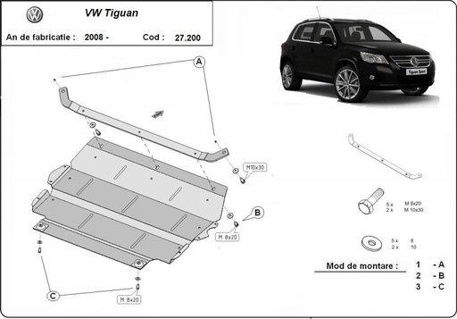 Scut Motor Volkswagen Tiguan