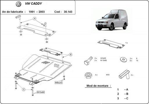 Scut motor VW Caddy 1991-2003