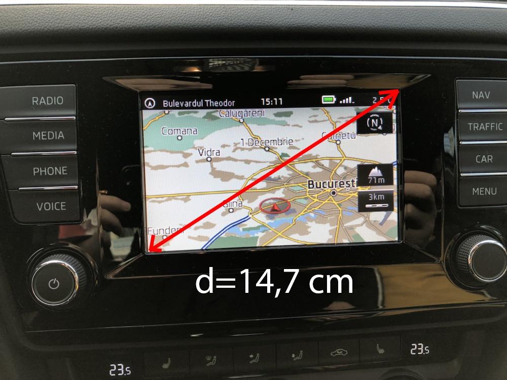 SD Card navigatie Skoda Amundsen MIB1 Octavia 5E Europa 2018 2019