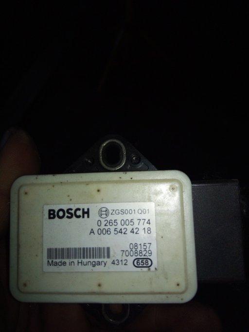Senzor acceleratie laterala,yaw sensor,Mercedes,0265005774,A0065424218
