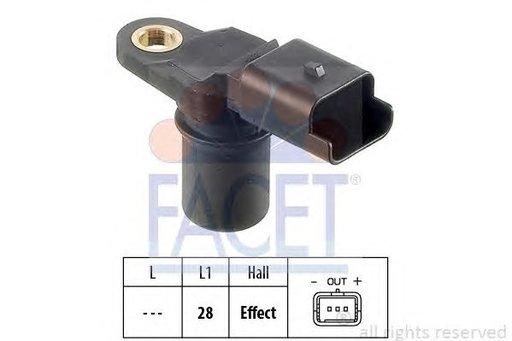 Senzor pozitie ax came, producator Facet DACIA NISSAN OPEL RENAULT cod OEM :4415077 7701058077 93167895