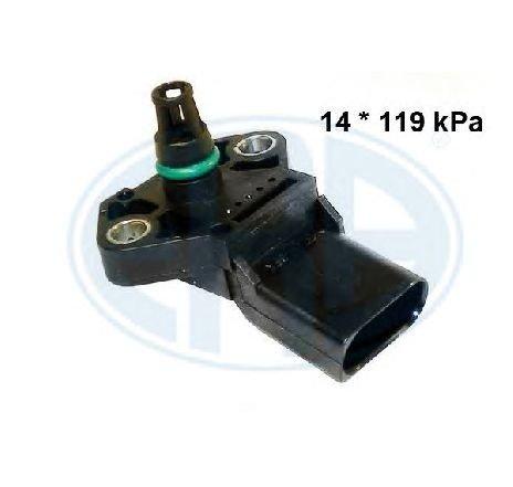 Senzor, presiune galerie admisie VW LUPO ( 6X1, 6E1 ) 09/1998 - 07/2005 - producator ERA 550363 - 303398 - Piesa Noua