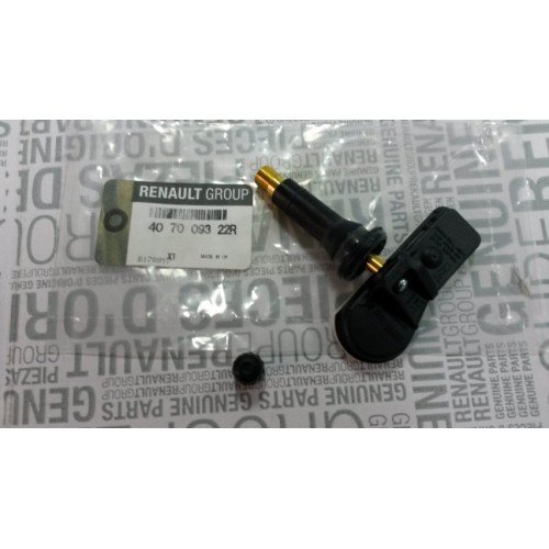 Senzor presiune roata + valva 407009322R Renault /