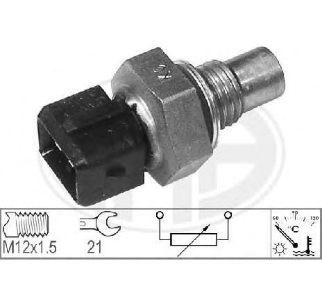 Senzor, temperatura lichid de racire OPEL ASTRA F Cabriolet ( 53B ) 03/1993 - 03/2001 - producator ERA 330651 - 300380 - Piesa Noua