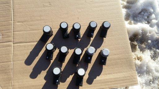 Senzori parcare Skoda Octavia 2 Facelift 2009 2010 2011 2012